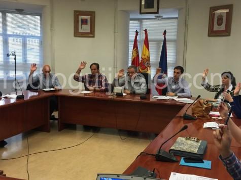 Sesión plenaria del Ayuntamiento de Guijuelo.