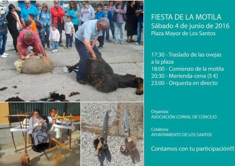 Fiesta de la Motila en Los Santos