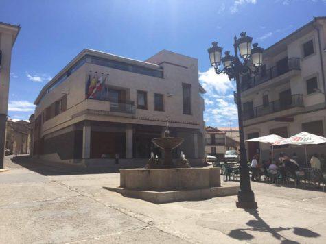 Plaza Mayor de Cespedosa. Foto Ayto. Cespedosa.