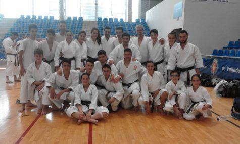 Karatecas del C.D. La Luna. Foto La Luna.
