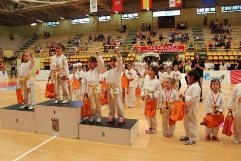 Campeonato Provincial de Kárate. Foto C.D. La Luna.