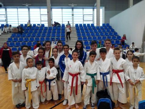 Karatecas del Gimnasio La Luna. Foto C.D. La Luna