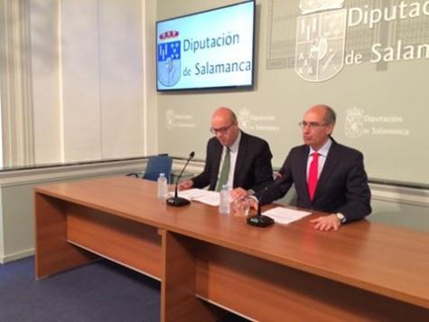 Presentación del Plan de Carreteras. Foto Diputación de Salamanca.