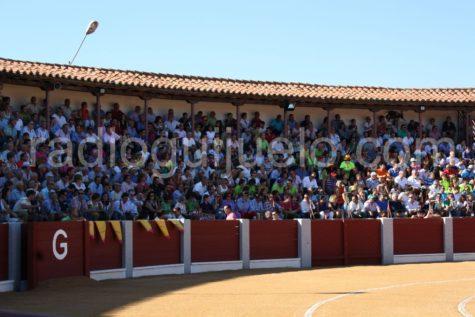 Plaza de Toros de Guijuelo en Fiestas.