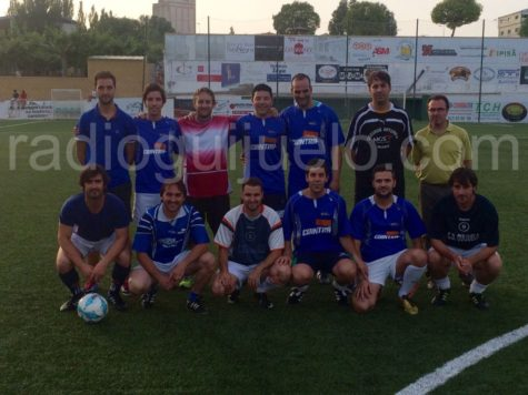 Catuysa uno de los finalistas de Fútbol 7