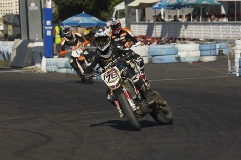 Competición de Pit-Motard. Foto diariodeavisos.com