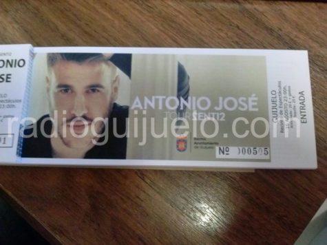 Entradas para Antonio José