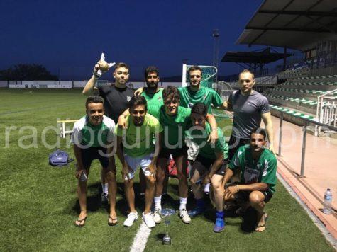 Guijuelo Salamanca Team campeón Futbol 7