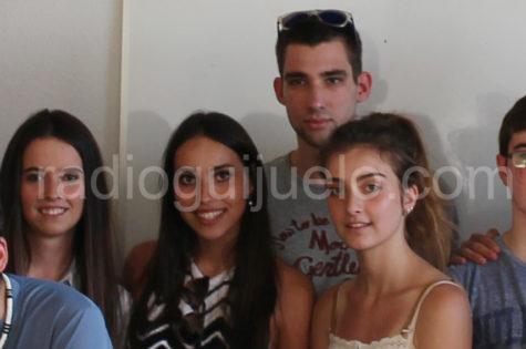 Pablo De Arriba en el centro de la imagen.