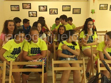 Participantes en el Verano Joven.