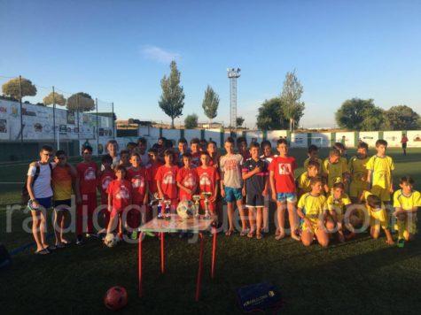 finalistas Futbol 7 categorías inferiores