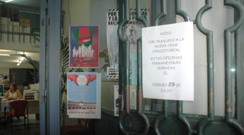 Aviso de cierre en las oficinas Municipales.