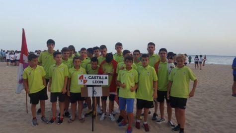 Conjunto Cadete del C.D. Guijuelo. Foto Escuela de Fútbol C.D. Guijuelo D.O.