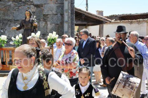 Momento de las fiestas de Palacios.