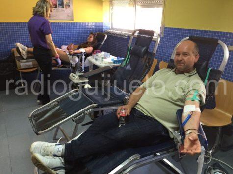 Donaciones en Guijuelo.