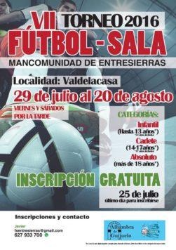 Torneo de Fútbol Sala Entresierras