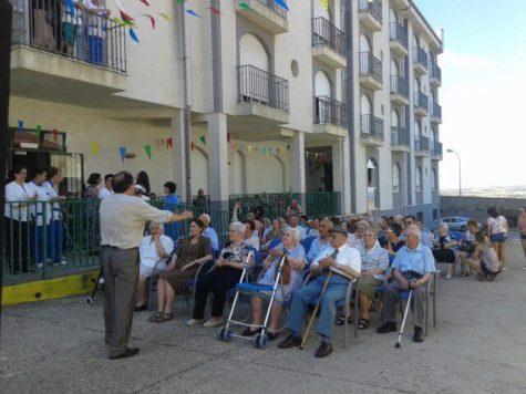 Día del Abuelo en la Residencia de Guijuelo.