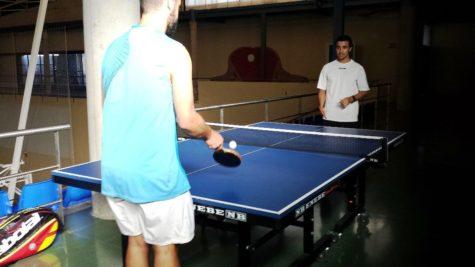 Tenis de mesa en Guijuelo.