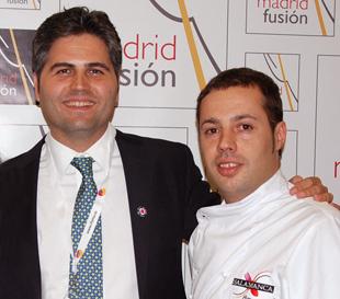 Gonzalo y Marcos foto hoteleria salamanca