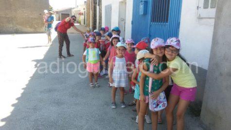 Niños de la ludoteca en Palacios.