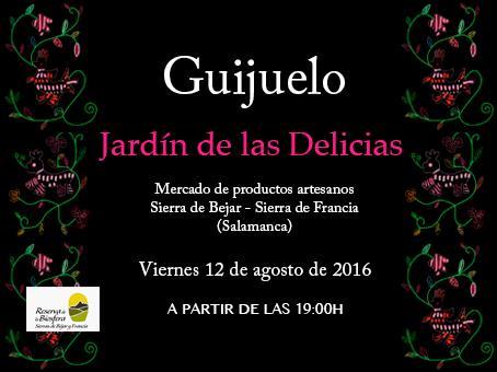 El Jardín de Las Delicias en Guijuelo