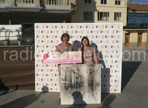 Ganador del X certamen del pintura al aire libre de Guijuelo.