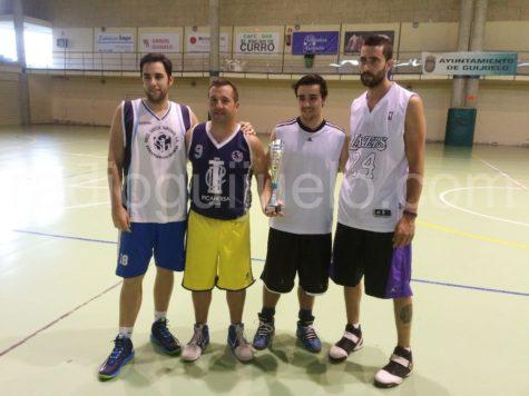 Guijuelo anti-Matas team, ganador del torneo