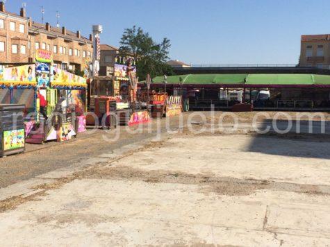 Las atracciones ya están instaladas en Guijuelo