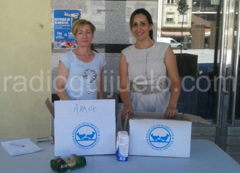 Las concejalas Yolanda Alonso y Maite Montero.