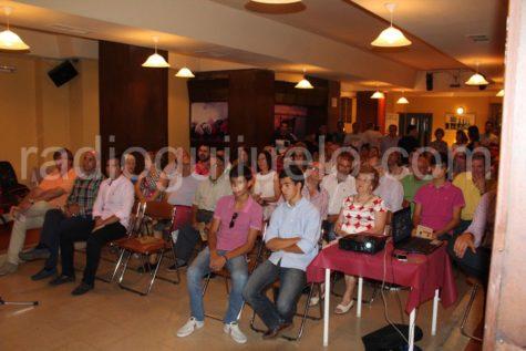 Público asistente a la presentación de la feria de toros de Guijuelo