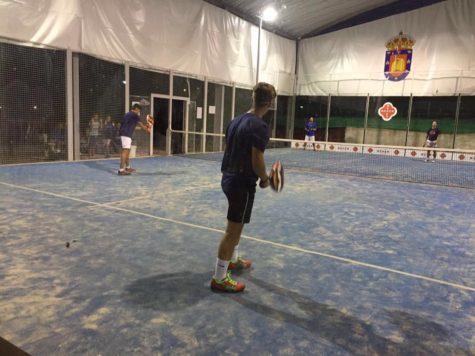 Partidos del torneo de verano de pádel. Foto club guijuelense de tenis y pádel