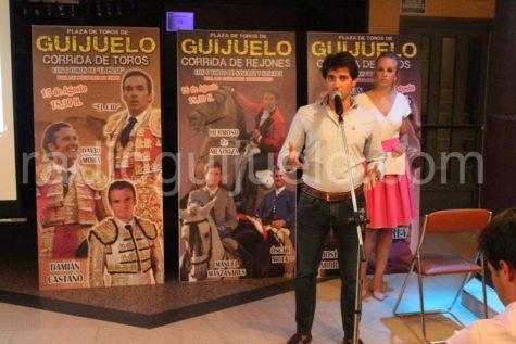 Presentación de la feria taurina de Guijuelo.