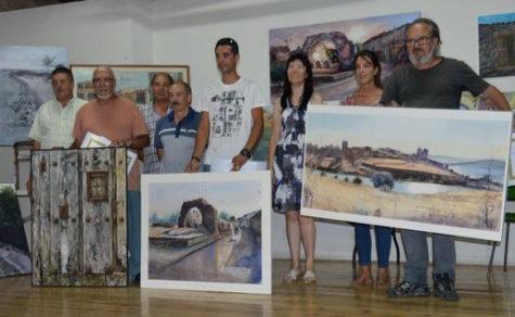 Certamen de Pintura en Salvatierra. Foto archivo.