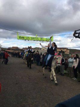 Fiesta de los Quintos en Cespedosa. Foto Cespedosa