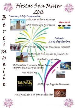Fiestas Bercimuelle