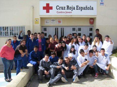 Actividad de Cruz Roja en su centro Joven