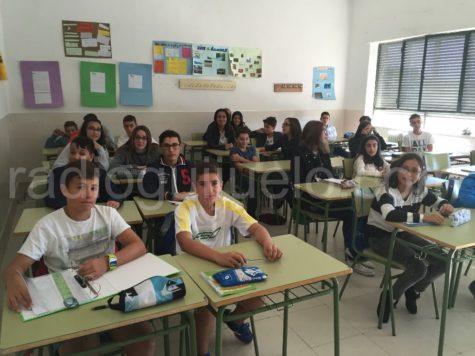 Alumnos del IES Vía de la Plata de Guijuelo