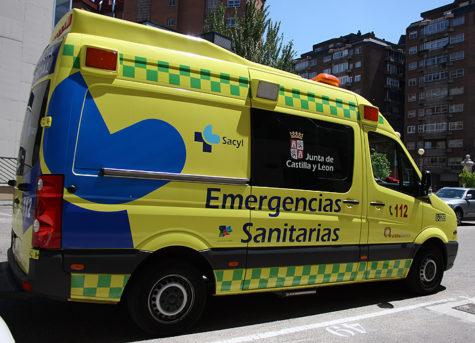 Ambulancia 112. Foto 112.jycl.es.