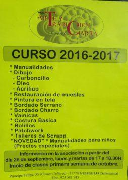 Cursos 2016 2017 arte y tradición charra