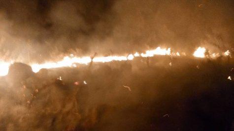 Incendio Valverde. Foto Bomberos Guijuelo
