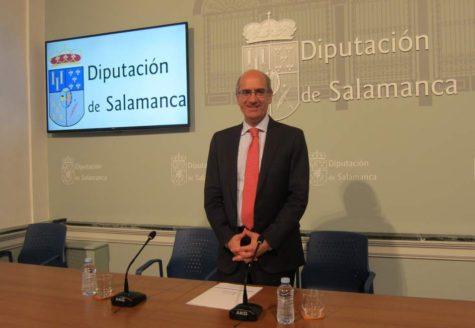 Javier Iglesias Presidente de la Diputación.