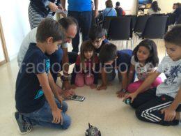 Niños participando de una propuesta en el Centro Cultural