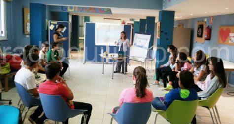 Participantes del taller Cómete el Curso.
