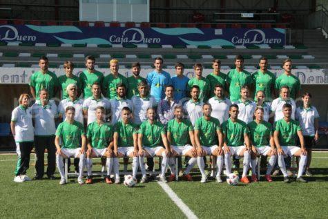 Primer equipo del CD Guijuelo .