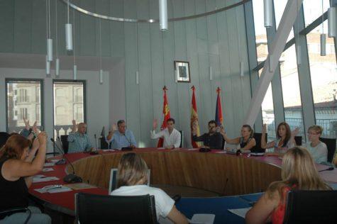 Sesión plenaria del Ayuntamiento de Guijuelo