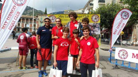 Intregrantes del club La Covatilla. Foto La Covatilla