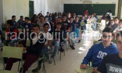 Alumnos del IES Vía de la Plata de Guijuelo,