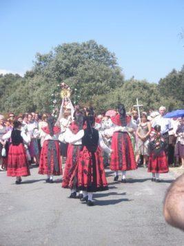Fiestas de Valdefuentes. Foto archivo Valdefuentes.