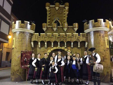 El Grupo Folklórico El Torreón en Beneixama. Foto El Torreón