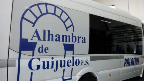 Autobús del Alhambra de Guijuelo. Foto Alhambra de Guijuelo